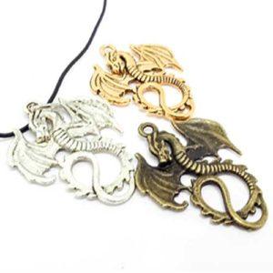 Дракон на късмета, медальон във формата на дракон