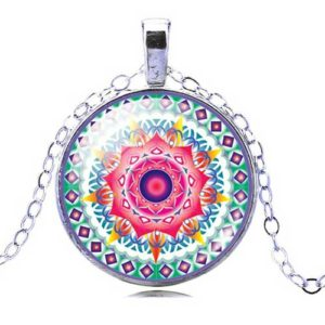 медальон Романтика и споделена любов, с мандала
