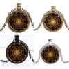 Шри Mандала, ръчно изработен медальон смандала