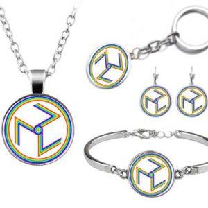 Антакарана - медальон, гривна, ключодържател, обеци или комплект