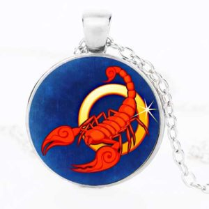 Скорпион, ръчно изработен медальон