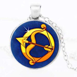 Стрелец, ръчно изработен медальон