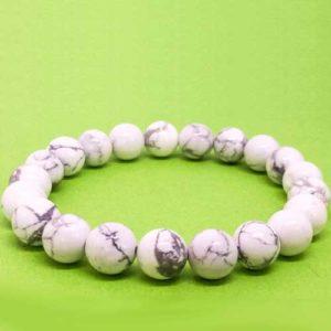 Хаулит, ръчно изработена гривна от естествени камъни