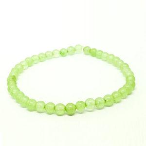 Жадеит, светло зелен, ръчно изработена гривна различни размери мъниста