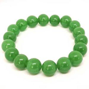 Авантюрин, зелен, ръчно изработена гривна различни размери мъниста