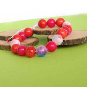 Страст, гривна естествен камък, Жадеит, Шамбала